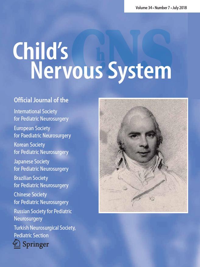 2018 Issues - European Society for Pediatric Neurosurgery (ESPN)
